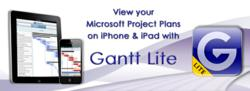 Gantt Lite - Microsoft Project Plans on iPhone &amp; iPad